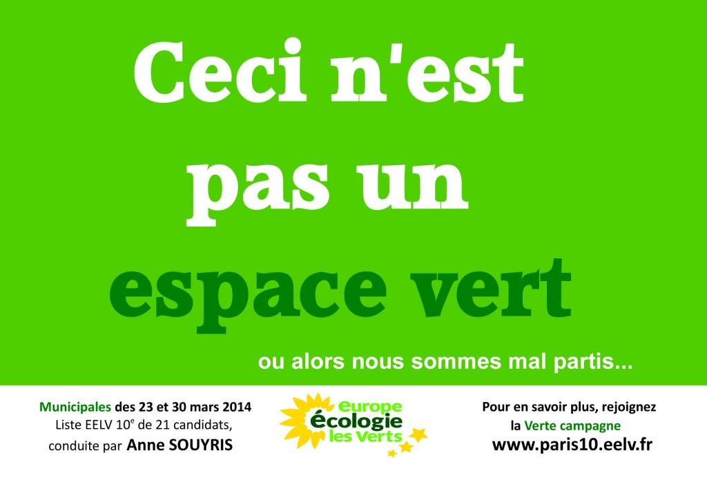 Greentag espace vert